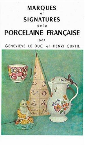 9782707200389: Marques et Signatures de la Porcelaine Fran�aise