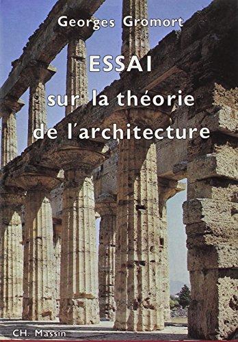 9782707200884: Essai sur la théorie de l'architecture