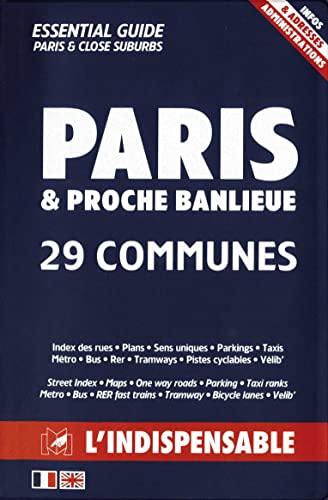 9782707202314: Atlas routiers : Modèle Police Nationale - Plan de Paris par arrondissements - Plan des communes limitrophes