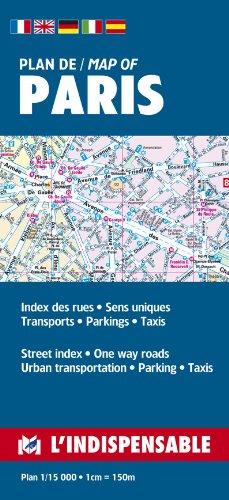 9782707202383: Plans de Paris: Paris street index and maps: Paris pratique par arrondissement (20)