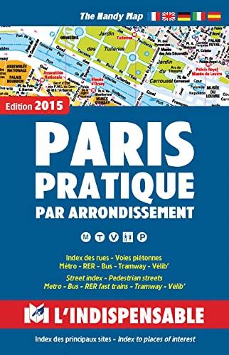 9782707202390: Plans de Paris: Paris street index and maps: Paris pratique par arrondissement