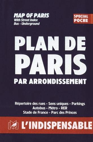 Atlas routiers : Plan de Paris par: Atlas Indispensable