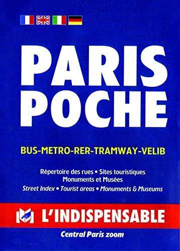 9782707202468: C15 paris tourist map - l'indispensable