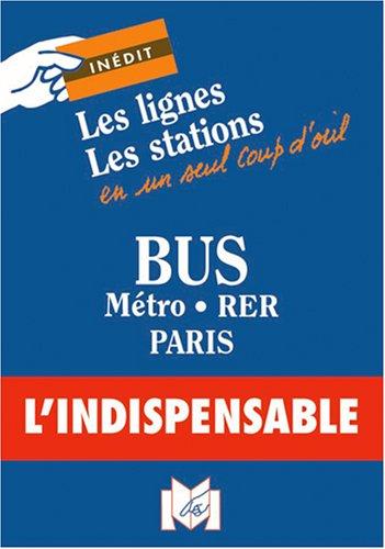 9782707203144: C18 carte poche - bus, métro, tramway, rer (Plan circulation transports)
