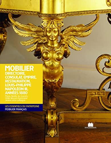 9782707206770: Mobilier Directoire Consulat Empire Napoléon III