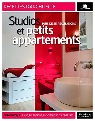 9782707207524: Studios et petits appartement : Plus de 25 réalisations (Recettes d'architecte)