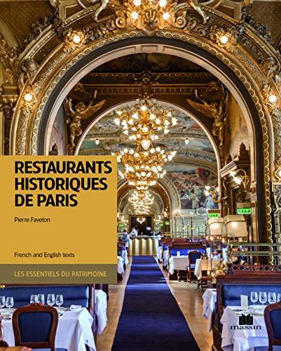 9782707209078: Restaurants historiques de Paris (Bilingue)