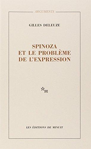 9782707300072: Spinoza ET Le Probleme De L'Expression