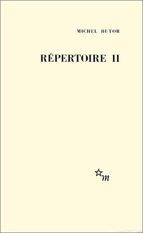 R?pertoire, t. 02: Michel Butor