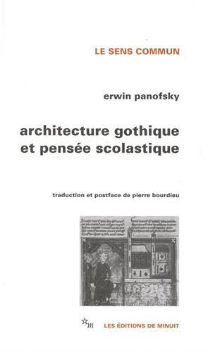 9782707300362: Architecture gothique et pensée scolastique