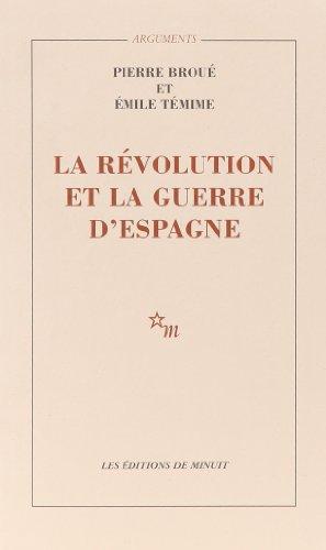 9782707300515: La Révolution et la guerre d'Espagne