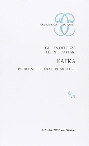 9782707300584: Kafka pr litte mineure (Critique)
