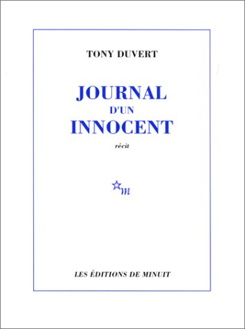 9782707300959: Journal d'un innocent (French Edition)