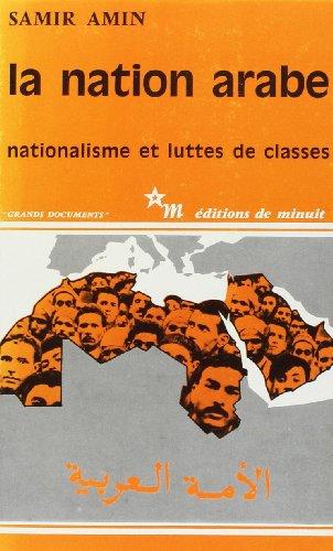 9782707301192: La nation arabe, nationalisme et lutte des classes