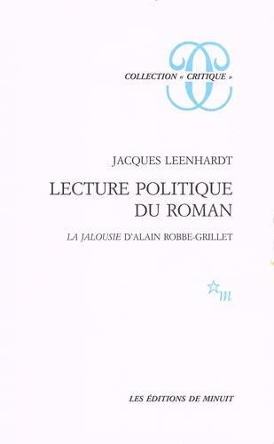 Lecture politique du roman: J. Leenhardt
