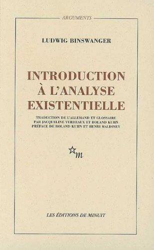 Introduction à l'analyse existentielle: Binswanger, Ludwig