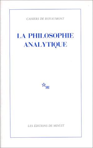 9782707302793: La philosophie analytique