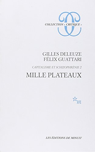 9782707303073: Mille Plateaux (Collection