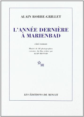 9782707303110: L'ann�e derni�re � Marienbad