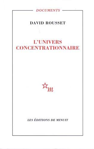 9782707304056: L'univers concentrationnaire