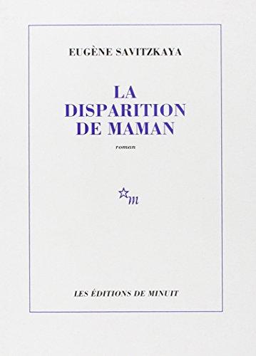 9782707306104: La Disparition de Maman