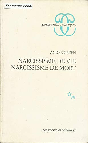 9782707306357: Narcissisme de vie, narcissisme de mort (Collection
