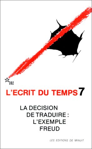 L'Ecrit Du Temps T.7: Collectif