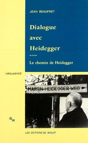 9782707310088: Dialogue avec Heidegger
