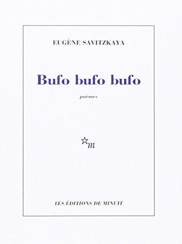 9782707310729: Bufo, bufo, bufo (French Edition)