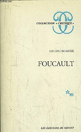 9782707310866: Foucault (Collection