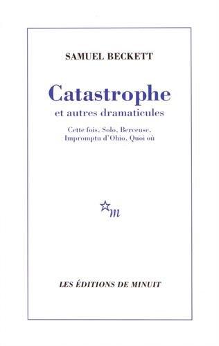 9782707310873: Catastrophe et autres dramaticules