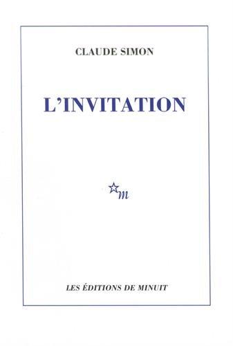 L'invitation: Claude Simon