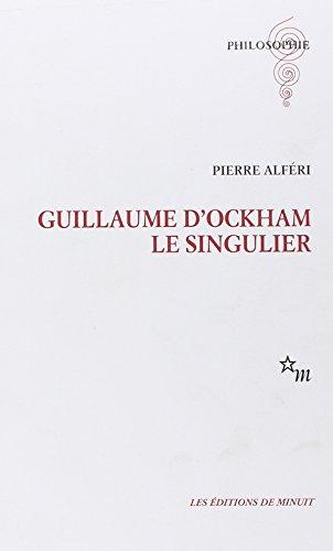 Guillaume d'Ockham le singulier: Alferi