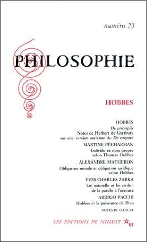 9782707313027: Hobbes (Philosophie)