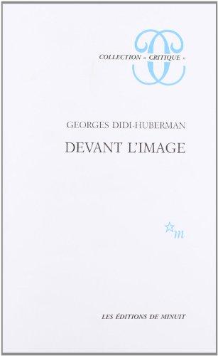 """9782707313362: Devant l'image: Question posée aux fins d'une histoire de l'art (Collection """"Critique"""") (French Edition)"""