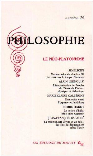 9782707313386: le néo-platonisme