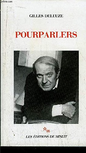 Pourparlers, 1972-1990 (French Edition): Deleuze, Gilles