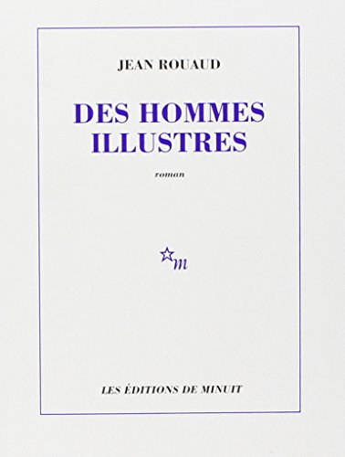 9782707314529: Les Hommes Illustres (French Edition)