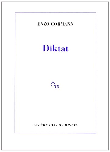 9782707315090: Diktat (French Edition)