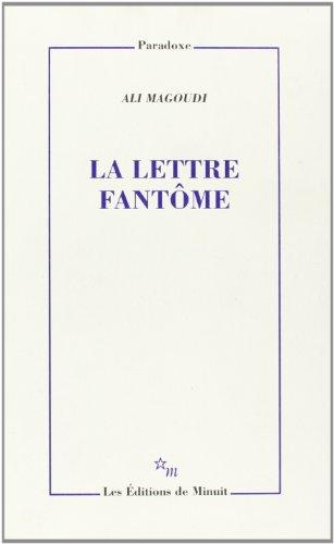 La lettre fantome (Paradoxe) (French Edition): Magoudi, Ali