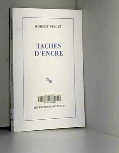 9782707315922: Taches d'encre (French Edition)