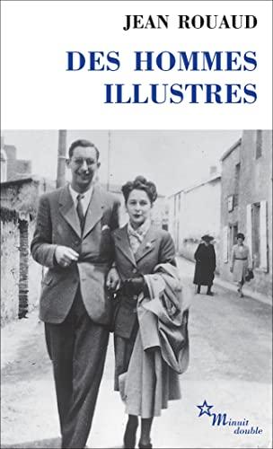 9782707316882: DES Hommes Illustres (French Edition)