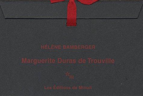 9782707319050: Marguerite Duras de Trouville