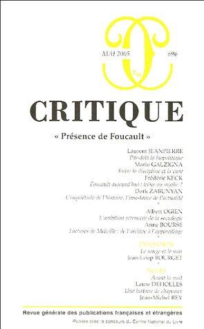 9782707319128: présence de Foucault