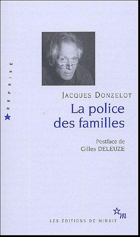 9782707319203: La police des familles (French Edition)