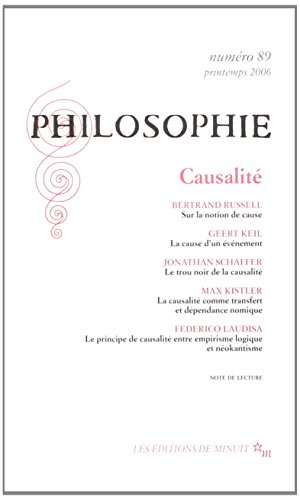 9782707319531: Philosophie, N° 89, Mars 2006 (French Edition)