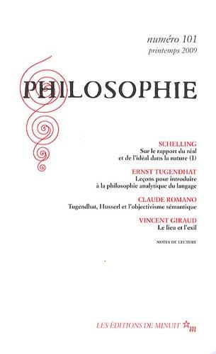 Philosophie, N° 101, Printemps 20 : Tugendhat Ernst; Claude