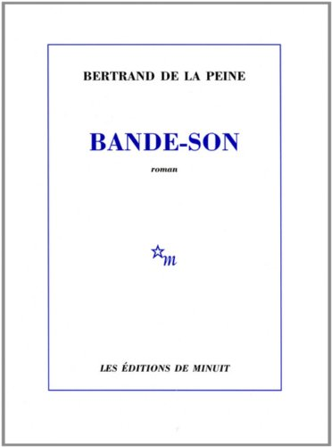 9782707321411: Bande-son (French Edition)