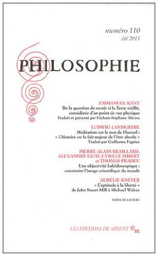 PHILOSOPHIE NO.110: COLLECTIF