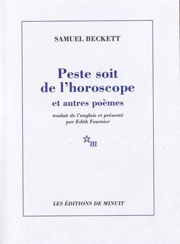 9782707322623: Peste soit de l'horoscope et autres poèmes